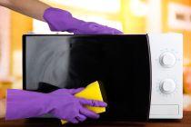 Limpiar y quitar malos Olores del Microondas