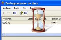Acelerar el desfragmentador de disco