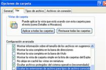 Cómo ver las extensiones de los archivos en el explorador de Windows