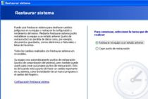 Cómo utilizar Restaurar Sistema para restaurar Windows XP