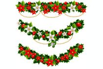 Cómo decorar con guirnaldas en Navidad