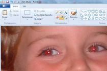 Cómo Corregir los Ojos Rojos en las Fotografías con Paint