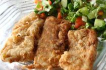 Cómo preparar filetes de pargo fritos con vino y perejil