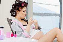 Cómo cuidar el cabello durante el embarazo