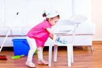 Como enseñarles a los niños a ayudar en la casa