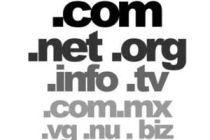 Como saber cuántas extensiones de dominio existen