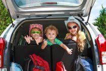 Cómo viajar con niños en el auto