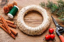 Ideas para crear Roscas Decorativas de Navidad