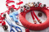 Cómo crear Adornos de Navidad con Silicona Caliente