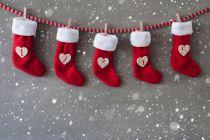 Como hacer Botas para Colgar en Navidad