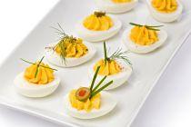 Receta de Tomates y Huevos Rellenos
