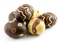 Huevos de Chocolate de colores. Receta