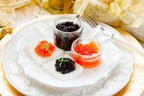 Cómo servir y comer el caviar