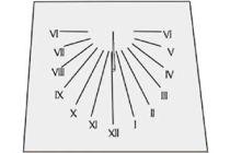 Cómo hacer un reloj de sol