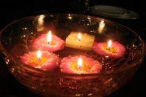 Cómo hacer velas flotantes
