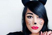 Cómo hacer un maquillaje de gato