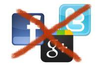 Cómo vivir sin usar redes sociales