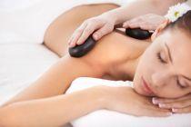 Cómo hacer masajes con piedras calientes