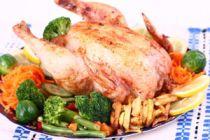 C mo preparar un pollo asado - Como cocinar pollo al horno ...