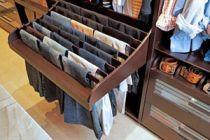 Un cajón para guardar los pantalones