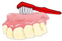 Cómo limpiar la dentadura postiza