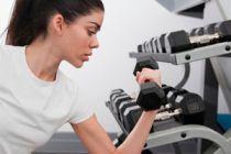 Luce a la moda en el gym