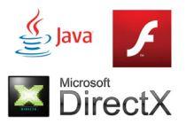 Cómo actualizar Java, Flash y DirectX