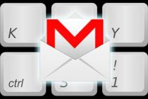 Atajos de teclado para usar Gmail
