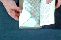 Cómo hacer un Señalador con forma de Corazón