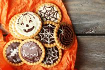 Cómo preparar galletas para Halloween. Idea para hacer galletas de halloween rápidas y fáciles. Preparación de galletas rápidas para Halloween