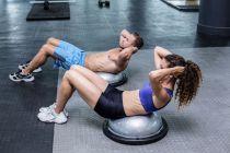 Cómo practicar ejercicios con bosu. Qué es el bosu. Para qué sirve el bosu? Ejercicios para practicar con el bosu.