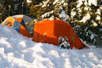 Cómo Acampar con Nieve