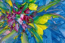 Cómo crear arte abstracto. Técnica para pintar arte abstracto. Cómo crear un pintura de arte abstracto. Técnica simple para dibujar arte abstracto