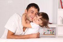 La relación entre padre e hija en sus primeros años